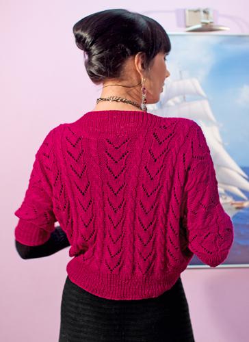 вязание болеро спицами для женщин с описанием