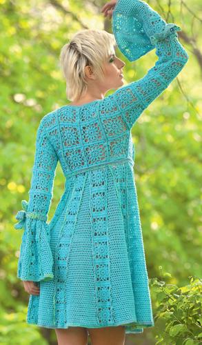 Схемы моделей вязаной женской одежды