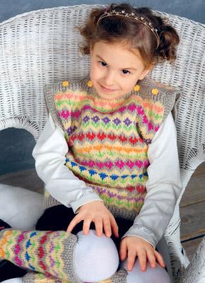 Схемы и описание вязания для детей