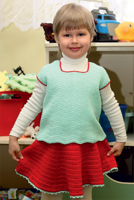 Вязание крючком, Одежда для детей
