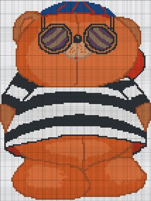 посмотреть схему вышивания крестиком эмблемы футбольной команды цска