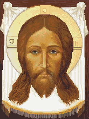 вышиваем иконы крестиком
