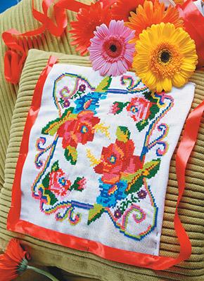 Декоративная вышивка крестом