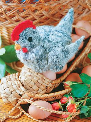 Вязанная курица схемы