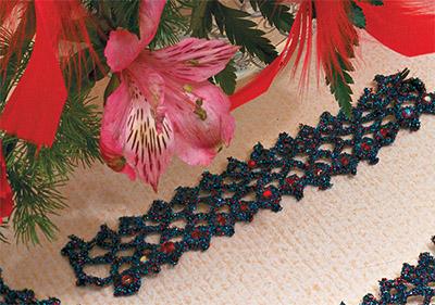 бисероплетение украшения на шею схемы для начинающих