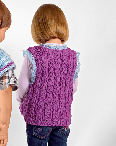 Вязание спицами, Одежда для
