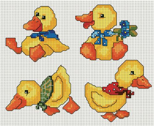 Схемы для вышивания крестиком из Ваших картинок ...