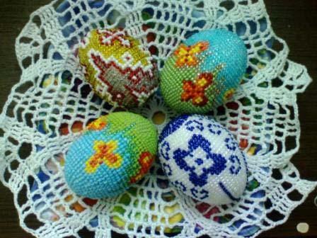 Пасхальные яйца «Танец