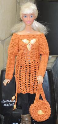 туника и сумка для Барби, Одежда для кукол