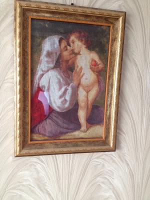 """""""Поцелуй""""-по мотивам картины Бужеро Адольфа Вильяма.Франция.классицизм"""