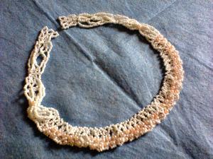 Украшения, Ажурное вязание