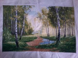 Берёзовый лес, Лето