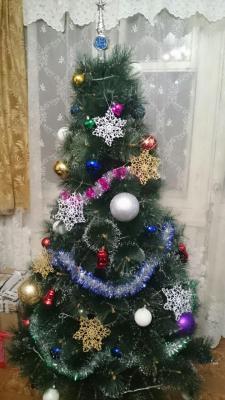Снежинки на елочку, Ажурное вязание