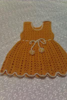 Сарафанчик шерстяной для девочки, Детская одежда