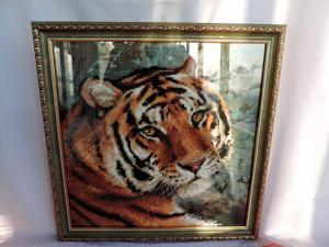 Амурский тигр, Картины и панно
