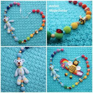 Слингобусы для ребенка, Игрушки