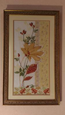 Осенний букет, Листики
