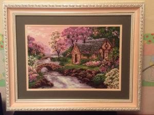 Весна, Картины и панно