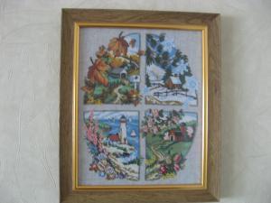 Картины, панно, Вышивка крестом