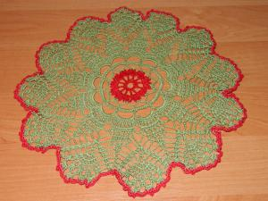 Зеленая салфетка, Листики