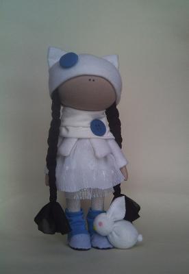 Интерьерная кукла Киска, Шитьё