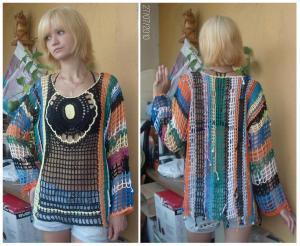 Одежда для женщин, Вязание крючком