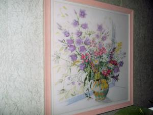 Цветы на подоконнике, Картины и панно