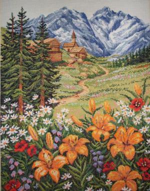 Альпийский луг, Пейзажи