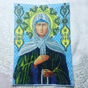 Матрона Московская, Вышивка бисером