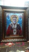 Святой Николай Чудотворец, Вышивка бисером