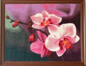 Орхидея, Картины и панно