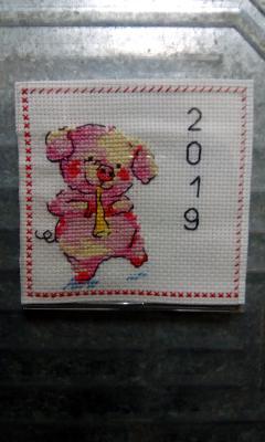 Магнит. свинка-символ 2019, Декоративные аксессуары