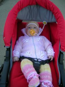 Куртка и комплект розовый