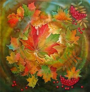 Осенний вальс, Батик
