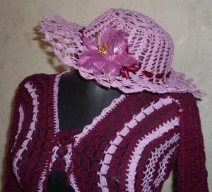 "Летняя шляпа ""Я в цвету"", Шляпы, панамки"