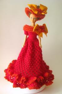 Одежда для игрушек, Вязание спицами