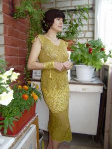 Женские комплекты, Вязание крючком