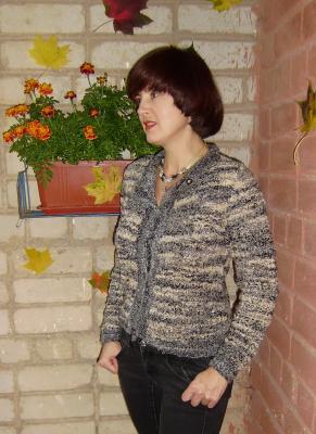 Одежда для женщин, Вязание спицами