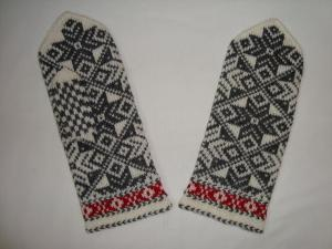 Варежки острова Кихну, Эстония, Варежки, перчатки