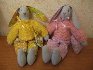 Тильда-зайцы , Шитьё