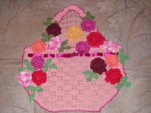 Декоративные элементы, Ажурное вязание