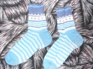 Носочки, Вязание спицами