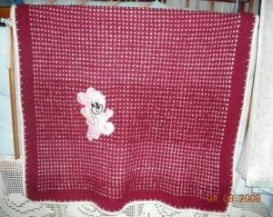 Детские одеяла, Вязание крючком