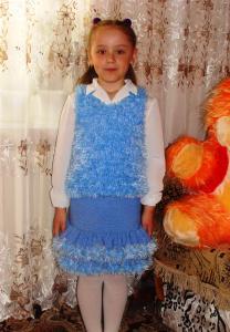 Костюм для доченьки (на 6-7 лет)
