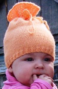 шапочка для малышки