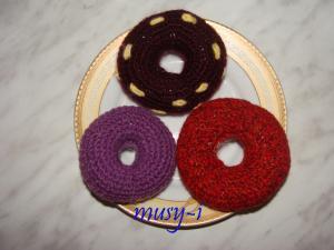пончики вязаные