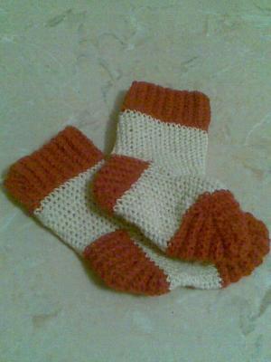 Носочки, Вязание крючком