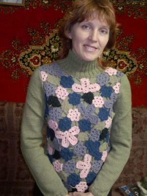 Одежда для женщин. Кофты, Вязание спицами и крючком
