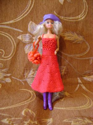 Для барби автор платье для барби