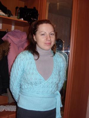 Пуловер с запахом 2